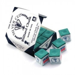 Giz Silver Cup Verde (caixa com 12un.)