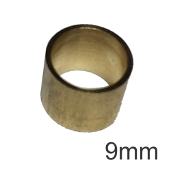 Virola de Metal 9,0mm (s/rosca)