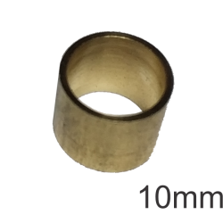 Virola de Metal 10,0mm (s/rosca)